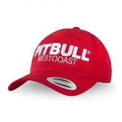Kšiltovka_Pitbull_West_Coast_Snapback_Classic_TNT_červená