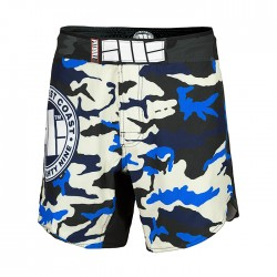 Pitbull_West_Coast_grappling_šortky_Camo_Blue
