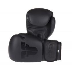 Boxerské rukavice Fighter SPLIT černá, černá 10oz