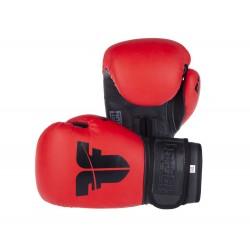 Boxerské rukavice Fighter SIAM červená 10oz