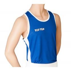 Boxerské tílko Top Ten modrá S