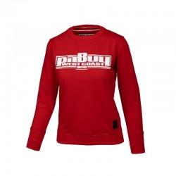 PitBull_West_Coast_-_dámská_mikina_Boxing_červená