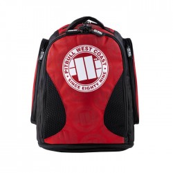 PitBull West Coast - Sportovní batoh ESCALA červený
