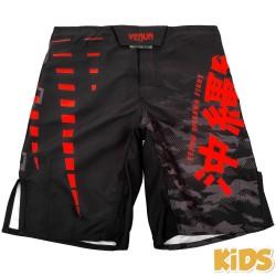 Dětské_trenky_Venum_Okinawa_černá,_červená