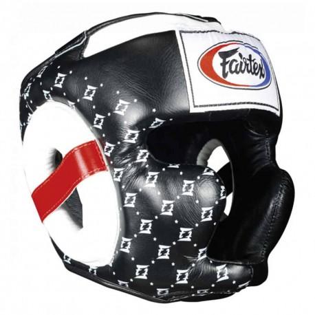 Boxerská helma Fairtex HG10 Super Sparring černá M