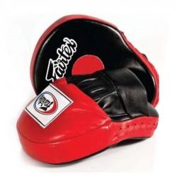 Boxerské_lapy_Fairtex_FMV9_černá,_červená