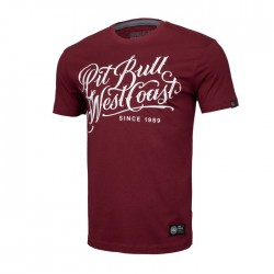 Pitbull West Coast triko Blackshaw burgundy M