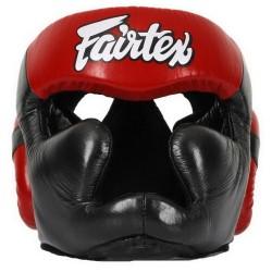 Boxerská_helma_Fairtex_HG13_LAce_Up_černá_červená