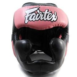Boxerská_helma_Fairtex_HG13_LAce_Up_černá_růžová