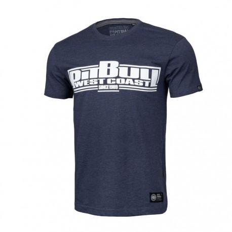 Pitbull_West_Coast_triko_Classic_Boxing_tmavě_modrý_melír